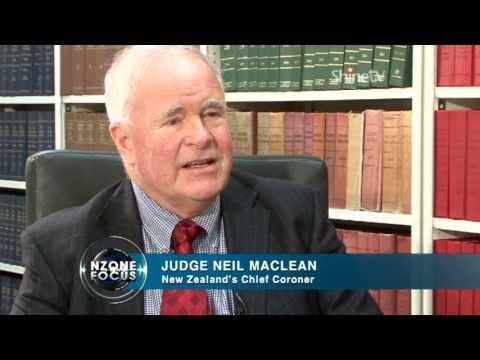 Raising suicide awareness - Judge Neil Maclean