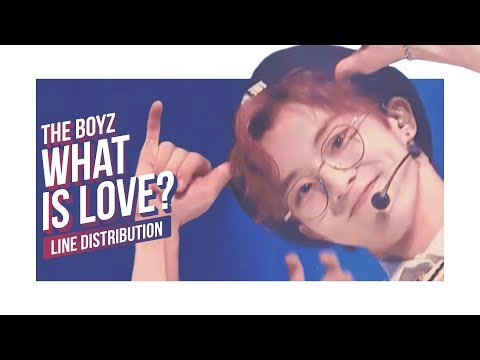 The Boyz - What Is Love? Line Distribution (Color Coded) | 더보이즈 - 웟이즈러브