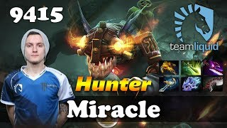 Miracle Slark Hunter | 9412 MMR Dota 2