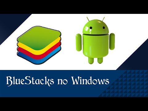 Tutorial : Como baixar. instalar. e utilizar o BlueStacks 2016 - atualizado : Windows 7. 8. 10