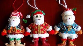 Фетровые елочные игрушки Bucilla