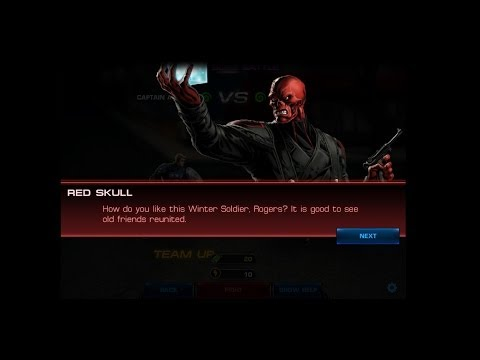 Marvel Avengers Alliance Spec Ops 17: Mission 3 Epic Boss Red Skull