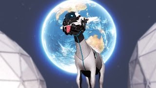 DESTROY THE EARTH | Goat Simulator Space DLC #1