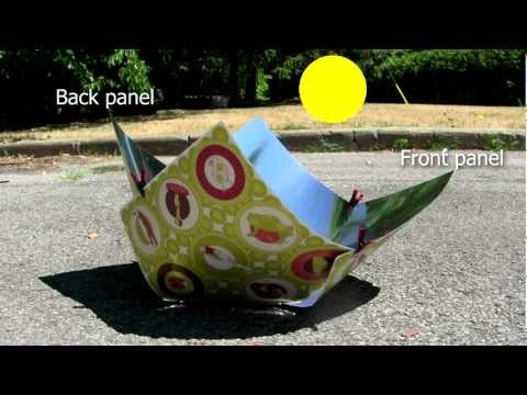 Copenhagen Solar Cooker – How to set up and use