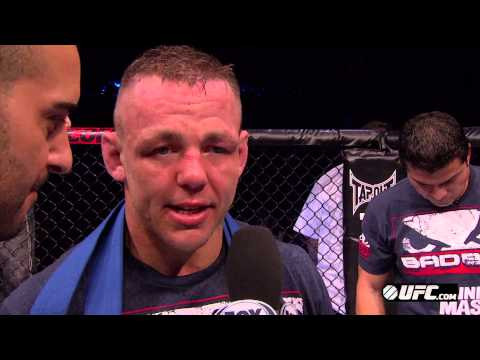 UFC on FX 6: Ross Pearson Post-Fight Interview