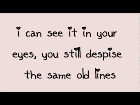 Glee - Somethin' Stupid (Lyrics) HD