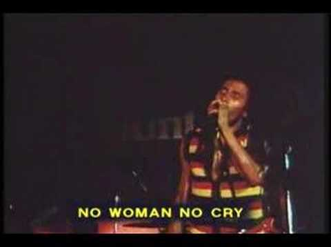Bob Marley - No Woman No Cry (version rare)