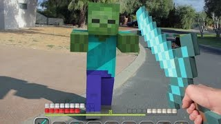 Top 7 Minecraft Animations 2018 (Minecraft Real Life Compilation)
