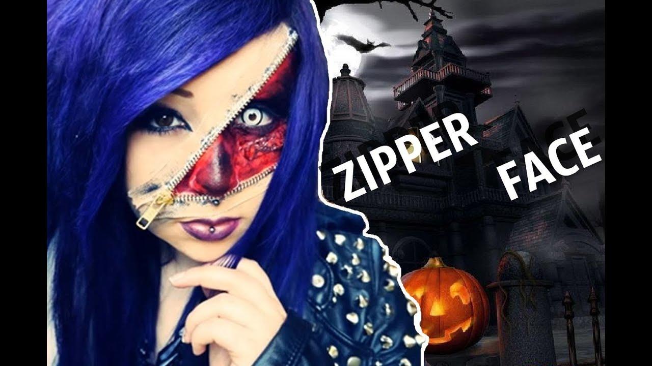 Zipper Face Makeup Zipper Face Verena