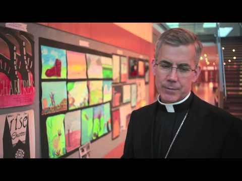 Apostolic Nuncio, Archbishop Charles Brown visits Rosemont School