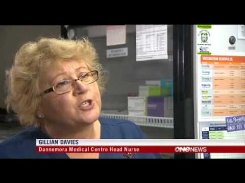 2012-12-01 - ONE NEWS - WHOOPING COUGH VACCINATIONS URGED