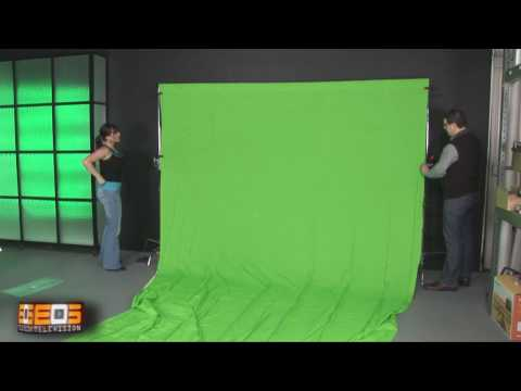 How To Use A Virtual Set   Virtual Studio for Online Video