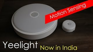 Xiaomi Backed Yeelight crystal sensor ceiling light mini / chargeable night light now in India
