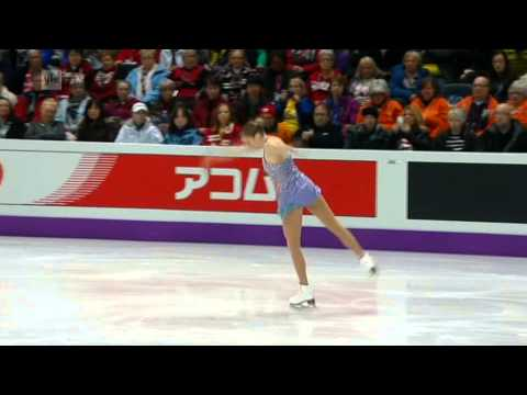 Carolina Kostner - 2013 Word Figure Skating Championships - Short Program - Canada Ontario London