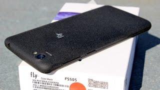 Обзор на телефон FLY-FS505 (замена iPhone 5S)