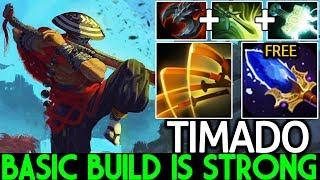 Timado [Juggernaut] Superman is Real Basic Build is Strong 7.22 Dota 2