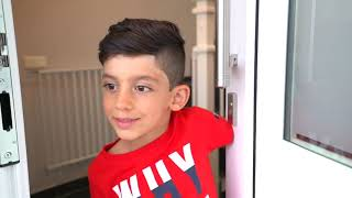 Jason orders McDonalds Happy Meal for Delivery, Funny Pretend Kids Video