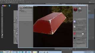 Marmoset Toolbag 2 - PBR Chipped Metal Tutorial PT3