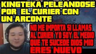 KINGTEKA DESESPERADO PORQUE NO LE DEJAN USAR EL CURIER TERMINA MECHANDO   DOTA 2