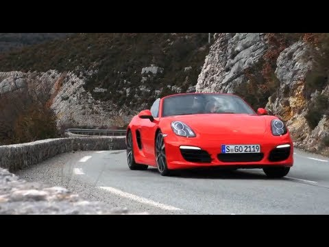 The 2012 Porsche Boxster S - CHRIS HARRIS ON CARS