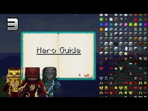 GUÍA DE HÉROES | Minecraft THE FLASH T2 | EP3 | SPEEDSTER HEROES MOD