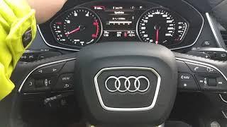 Audi Q5 2019 interier