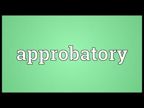 Header of approbatory