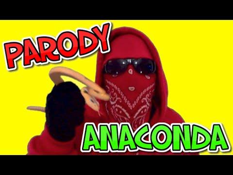 ANACONDA NICKI MINAJ PARODY VIDEO