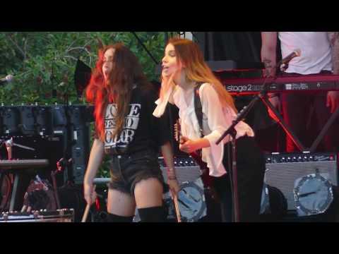 Haim - My Song 5 - Lollapalooza 2016 Chicago
