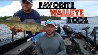 My Favorite Walleye Rod