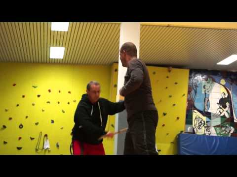 Modern Arnis Neubrandenburg Training im November 2012 mit neuem Kurs