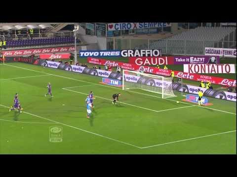 Fiorentina-Napoli 0-1 11a giornata Serie A TIM 2014/2015 HL (90 sec)