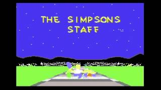 [C64 ending] The Simpsons (Arcade)