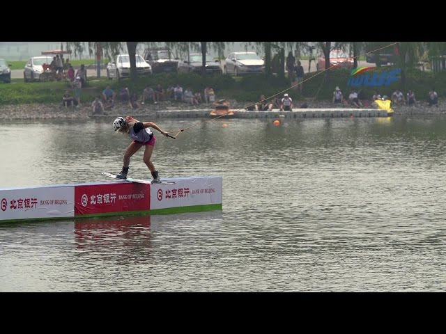 World Cup - Pro Womens Cable Wakeboard Final, Beijing 2014