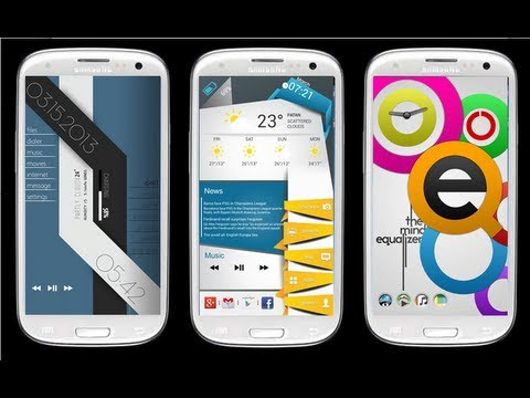 Top 5 Best Android Homescreen Themes