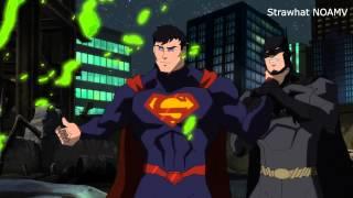 Batman and Green Lantern vs Superman [1080p]