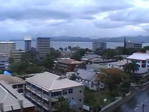 SUVA FIJI, FROM TANOA PLAZA HOTEL. COOL INSIGHT OF THE SUVA CITY!
