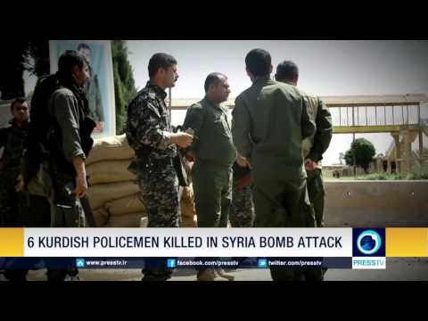 Six Kurdish Policemen Killed In Syria Bomb Attack