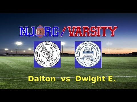 2nd Half HD Upload Dwight Englewood vs. Dalton School Football 10/25/14 - 10/26/2014