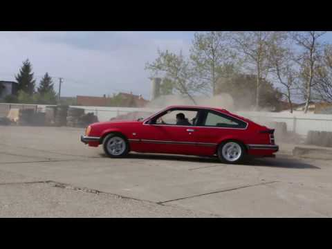Opel Monza 3 0 E Donuts And Drifting