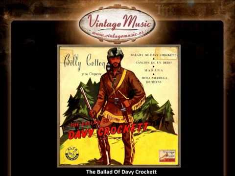 Billy Cotton - The Ballad Of Davy Crockett (VintageMusic.es)