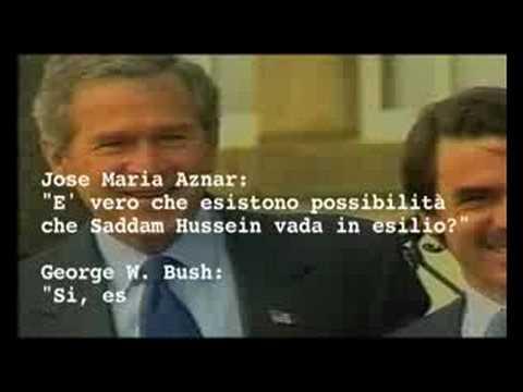Bush, Aznar, Blair e Saddam: esisteva un'alternativa alla guerra in Iraq