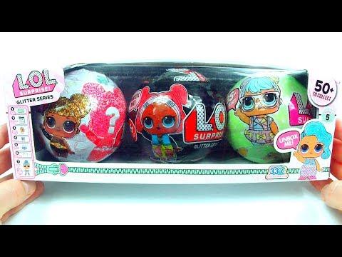 LOL SURPRISE Куклы Подделки Шариков в наборе ЛОЛ ЗОЛОТОЙ ШАР !!! Куклы ЛОЛ СЮРПРИЗ ПОДДЕЛКА
