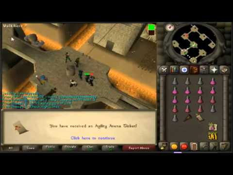 First to 99 Agility in Old School RS