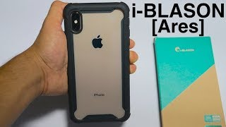 iPhone XS Max i-BLASON [Ares] - The Clear Full Body Armour Case!
