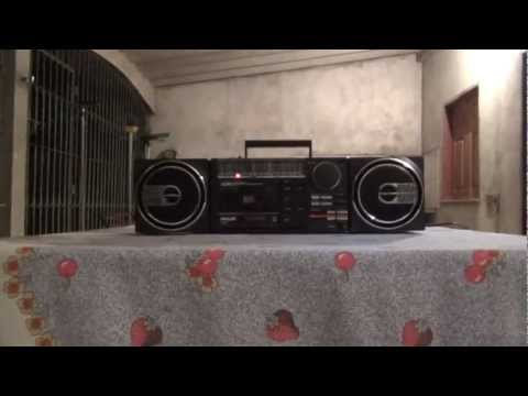 Radio Gravador Philips AR-550  - Sound Machine