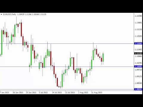 EUR/USD Technical Analysis for August 20 2015 by FXEmpire.com