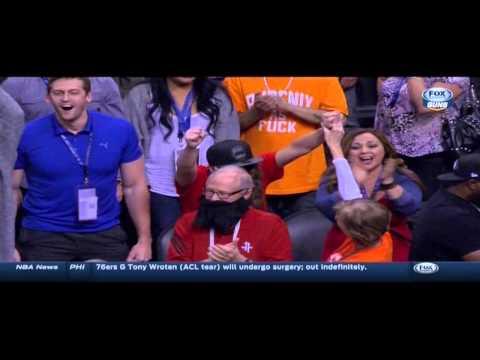 James Harden buzzer-beater game-winner: Houston Rockets at Phoenix Suns