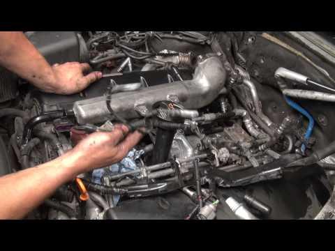 Touareg V10 5.0 wymiana alternatora