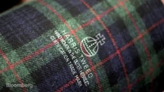 Scottish Harris Tweed Coats Protect Makers From Copycats